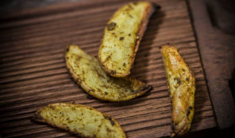 Potato Wedges – Baked & Fried
