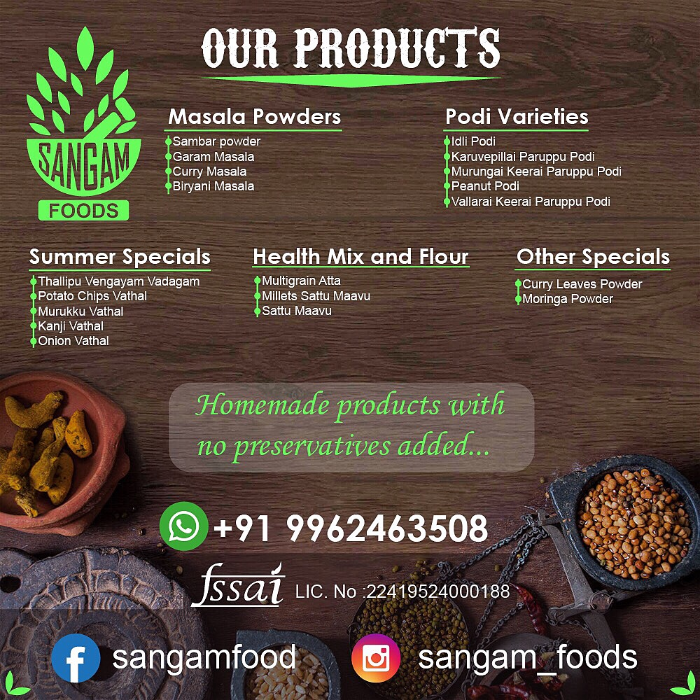 Sangam Foods – My Business Venture